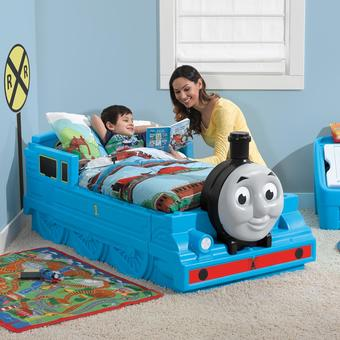 Step2 Thomas the Tank Engine Children's Bed (With Mattress)