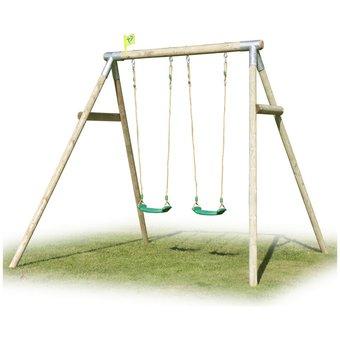 TP Double Knightswood Swing Set 7