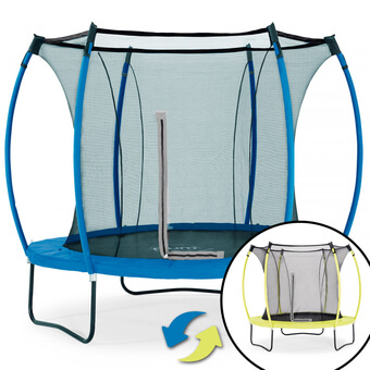 Plum Colours Reversible Trampoline - Lime & Blue