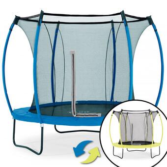 Plum Colours Reversible Trampoline - Lime & Blue