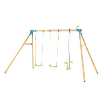 TP Woburn Triple Swing Set