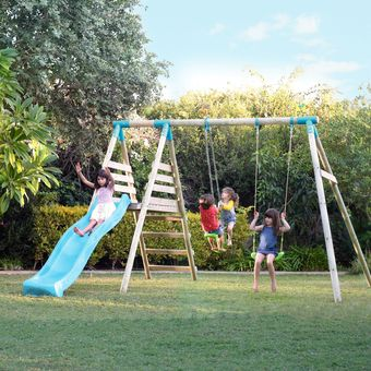 TP Alaska Double Swing & Slide Set