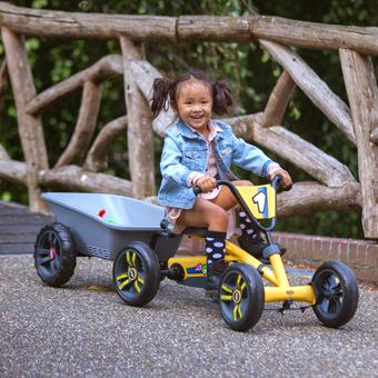 BERG Buzzy Go-Kart with Trailer Bundle
