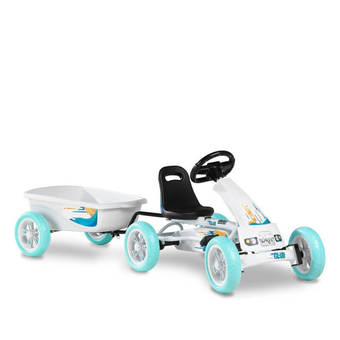 EXIT Toys Foxy Club Pedal Go-Kart with FREE Sound Bar