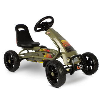 EXIT Toys Foxy Expedition Pedal Go-Kart with FREE Sound Bar