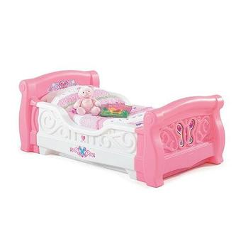 Step2 Girls Toddler Sleigh Bed