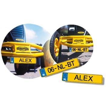 BERG Toys Number Plate Kit 2015